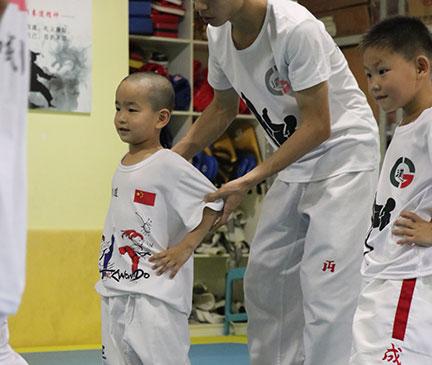 解放碑幼儿跆拳道培训
